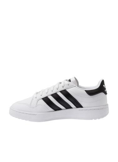 adidas Adidas Çocuk Günlük Spor Ayakkabı Team Court J Ef6815 Beyaz